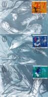 ISRAEL, 1996, Maxi-Card(s), Man & Animals, SG1346-1348, F5520 - Tarjetas – Máxima