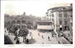 LAREDO / PLAZA GENERALISIMO Y AYUNTAMIENTO - Cantabria (Santander)