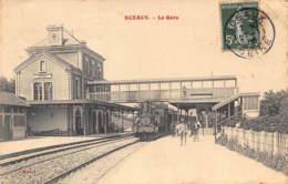 SCEAUX (92) - La Gare - Train - Sceaux