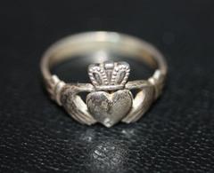 Bague De Foi Argent Irlandaise - Silver Claddagh Ring - Ring