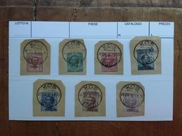 COLONIE ITALIANE - EGEO - COO - Sovrastampati Timbrati Su Frammento + Spese Postali - Egeo (Coo)