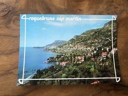 323/ ROQUEBRUNE VUE GENRALE AU FOND MONACO - Roquebrune-Cap-Martin