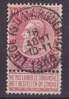 N° 58 LIEGE SAINTE MARGUERITE COBA +8.00 - 1893-1900 Schmaler Bart