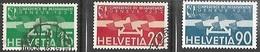 Switzerland 1932    Sc#C16-7 Used & Sc#C18 MLH  2016 Scott Value $11.25 - Ungebraucht