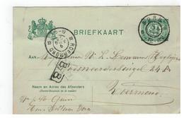 Briefkaart 1906 Verstuurd V BORN  Naar Roermond - Entiers Postaux