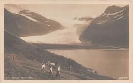 """09729 """"NORVEGIA - GHIACCIAIO SVARTISEN""""   ANIMATA. CART  NON SPED - Norvegia"""