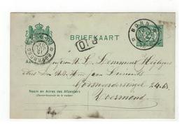 Briefkaart 1906 Verstuurd V BORN  Naar Roermond - Postal Stationery