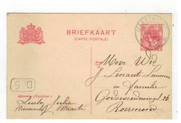 Briefkaart 1920 Verstuurd V MAASTRICHT  Naar Roermond - Entiers Postaux