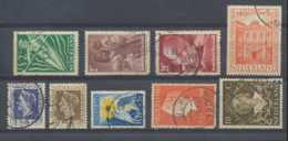 D - [202496]TB//O/Used-c:20e-Pays-Bas 1947-49, Petit Lot De Timbres Oblitérés, C:+20e - Used Stamps