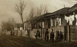 Old Postcard ROMANIA - FOCSANI, Zigeuner-Strasse - TYPES - 1918 - RPPC - Rumania