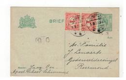 Briefkaart 1920 Verstuurd V SCHIMMERT  Naar Roermond - Postal Stationery