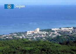 Northern Mariana Islands Saipan Island Overview New Postcard - Northern Mariana Islands