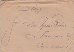 Feldpostbrief - FP 22858 Nach Iserlohn - 1942  (46251) - Alemania