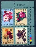 Albania 2001 / Flowers MNH Blumen Flores Fleurs / Ig06   5-64 - Vegetales