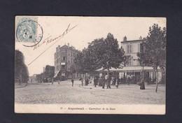 Vente Immediate Argenteuil (95) Carrefour De La Gare ( Animée Café Ref39966 ) - Argenteuil