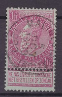 N° 64 MALINES STATION COB 25.00 - 1893-1900 Schmaler Bart