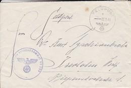 Feldpost - Dienststelle Feldpost Nr. 05399 Nach Iserlohn - 1941  (46254) - Deutschland