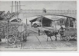 Lorient-La Passerelle Et L'interieur De La Gare - Lorient