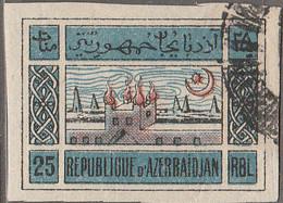 PIA - AZERBAIJAN - 1910 : Atechgah , Tempio Degli Adoratori Del Fuoco,Sourakhani  A Bakou - (Yv   26) - Azerbaijan