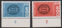 DDR 1964 MiNr.1054 - 1055 ** Postfr. 100.Jahrestag Der Gründung Der Erste Intern. Arbeit (A1456 ) Günstige Versandkosten - Ungebraucht