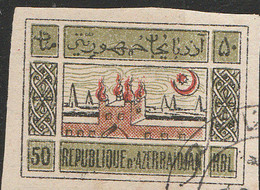 PIA - AZERBAIJAN - 1910 : Atechgah , Tempio Degli Adoratori Del Fuoco,Sourakhani  A Bakou - (Yv   27) - Azerbaijan
