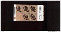 Belgie Boekje Carnet 2013 B136 Butterflies Vlinders Papillons 4321 4321a Aglais Urticae Sous Faciale - Postzegelboekjes 1953-....
