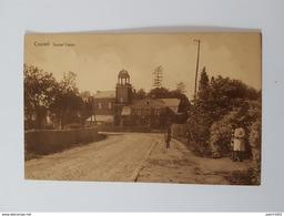 Beringen Chateau Kanonne Coursel Kasteel Canon+ANCIEN TIMBRE CACHET 1947 - Beringen