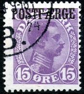 Denmark,1919,1kr,Mi#2,Y&T#118,ferry Cancellation,as Scan - Colis Postaux