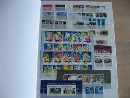 Nederland Postfris Guldens In Zwart Album 16 Blz Vol Zie Scan's - Timbres