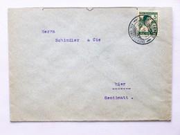 """SUISSE / SCHWEIZ / SWITZERLAND // Brief, Mit 5Rp. PRO JUVENTUTE 1915, Gest.: """"LUZERN 3.I.16"""" - Lettres & Documents"""