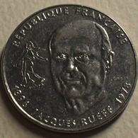 1996 - France - 1 FRANC, Jacques Rueff, Economiste, KM 1160, Gad 481 - Commémoratives