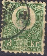 HONGRIE !  Timbre Ancien De 1871 N°2 Vert ! - Hungary
