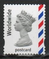 Great Britain 2003 Decimal Machin Worldwide Postcard Définitive Stamp. - 1952-.... (Elizabeth II)