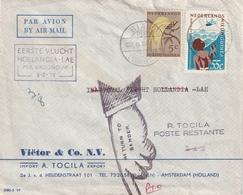 Brief Verzonden Per Kroonduif En Terug Gezonden - Nouvelle Guinée Néerlandaise