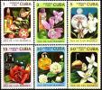 CUBA 1989, FLOWERS, COMPLETE MNH SET, GOOD QUALITY, *** - Nuovi