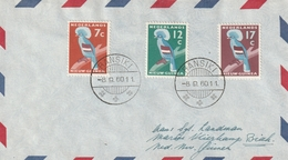 Brief Met Stempel Ransiki - Nouvelle Guinée Néerlandaise