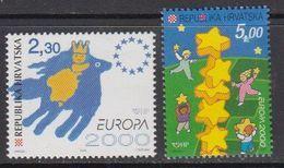 Europa Cept 2000 Croatia 2v ** Mnh (45712) - 2000