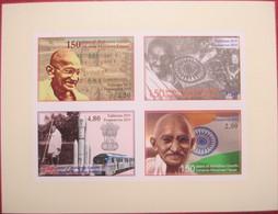 Tajikistan  2019  M. Gandhi  IMPERFORATED   M/S     MNH - Mahatma Gandhi