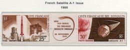 Côte Des Somalis YT PA 46A XX/MNH Espace - Space - Unused Stamps