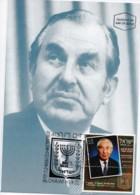 ISRAEL, 1998, Maxi-Card(s), President C. Herzog SG1388, F5543 - Tarjetas – Máxima