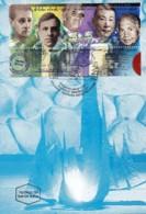 ISRAEL, 1998, Maxi-Card(s), Holocaust Memorial, SG1398 F5548 - Tarjetas – Máxima