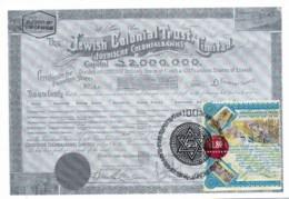 ISRAEL, 1999, Maxi-Card(s), Colonial Trust, SG1432 , F5564 - Tarjetas – Máxima