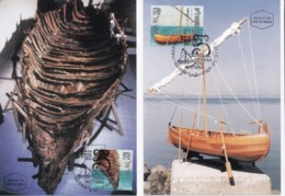 ISRAEL, 1999, Maxi-Card(s), Australia '99 Boat Shell, SG1435, F5566 - Tarjetas – Máxima