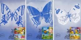 ISRAEL, 1999, Maxi-Card(s), TV Serie - Lovely Butterfly,  SG1446-1448, F5572 - Tarjetas – Máxima