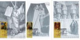ISRAEL, 1999, Maxi-Card(s), Sukkot Festival,  SG1453-1456, F5575 - Tarjetas – Máxima