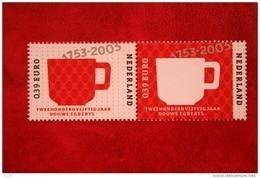 Douwe Egberts; NVPH 2192-2193 (Mi 2132-2133); 2003 POSTFRIS / MNH ** NEDERLAND / NIEDERLANDE / NETHERLANDS - 1980-... (Beatrix)
