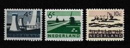 Nederland - Niederlande - Pays Bas NVPH 792 T/m 794 MNH ** (1963) - Periodo 1949 - 1980 (Giuliana)