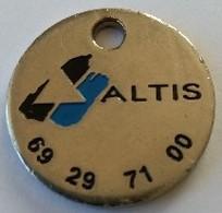 Jeton De Caddie - Sport - ALTIS - Les Masters HP - En Métal  - - Trolley Token/Shopping Trolley Chip