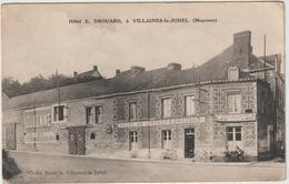 Mayenne :  VILLAINES  La  JUHEL  :  Hotel E. Drouard  (  Destinée  à  Flers ) - Villaines La Juhel