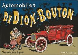 ANCIENNE VOITURE  DEDION BOUTON - Cartes Postales